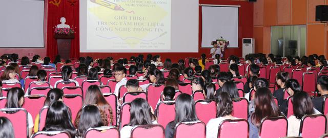 Giảng đường thứ 2 của sinh viên Đại học Thái Nguyên